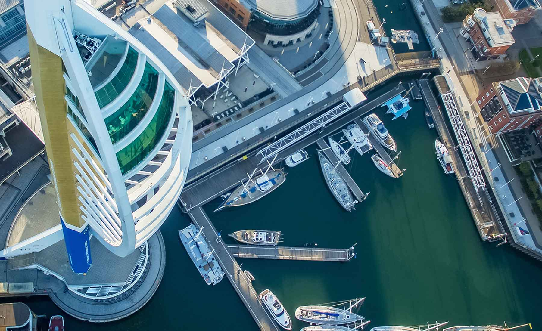 See Portsmouth from up above like never before