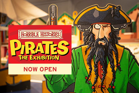 Horrible Histories Pirates Now Open