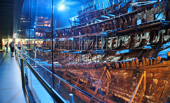 NOW INCLUDING THE MARY ROSE