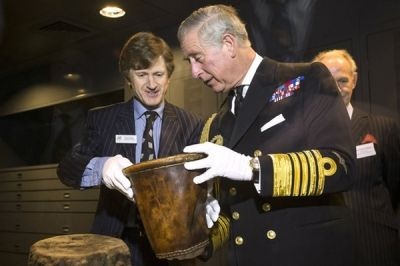 The Prince of Wales and The Duchess of Cornwall's Mary Rose visit