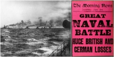 '36 Hours: Jutland 1916, The Battle That Won The War' blockbuster exhibition to open at the National Museum Of The Royal Navy, Portsmouth historic dockyard, 19th May 2016