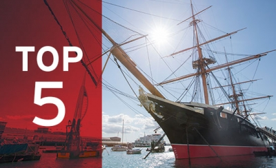Step back in time to the Age of Steam onboard HMS Warrior