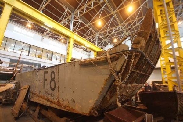 Falklands Landing Craft gets a new lease of life
