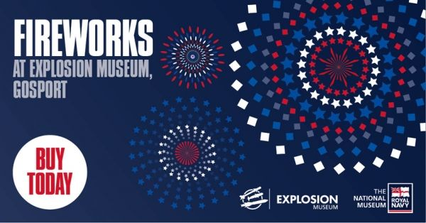 Fireworks at Explosion Museum of Naval Firepower