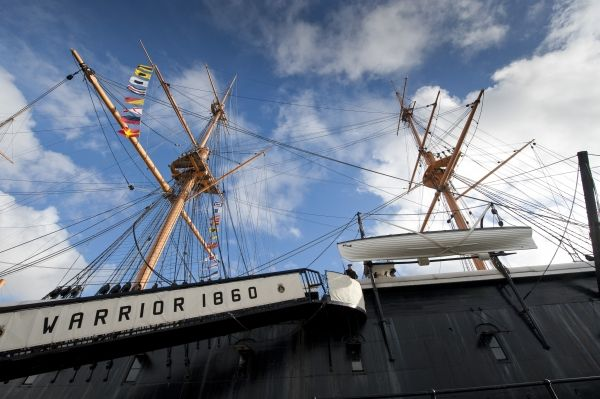 HMS Warrior has a watertight future thanks to Heritage Lottery Fund